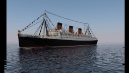 RMS Queen Mary - 3:1 Scale Minecraft
