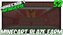 """Minecart Blaze Farm"" [52] Minecraft Bedrock Infiniverse Minecraft Map & Project"