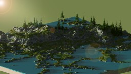 Coastline [Custom 2k x 2k Terrain] Minecraft Map & Project