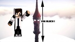 tower of 256 block (height) ! Minecraft Map & Project