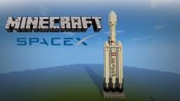 Falcon Heavy Rocket Minecraft