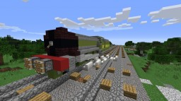 "LNER A3 ""Flying Scotsman"" Minecraft Map & Project"