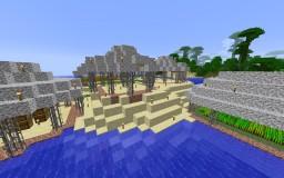 Jungle Beach Pavilions Minecraft Map & Project
