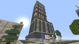 Lazuli News Channel Tower Minecraft Map & Project