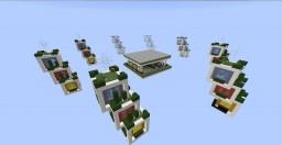 Modern Cube Skywar's Minecraft Map & Project