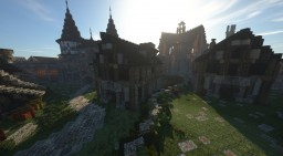 45 degree Medieval house Minecraft Map & Project