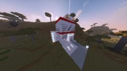 Hyper-Modern House Minecraft Map & Project
