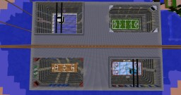 Sports Stadium with Moderna Texture Pack Minecraft Map & Project