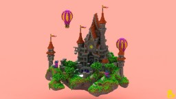 Krasatello Castle Hub Minecraft Map & Project