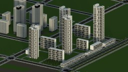 Jeonglim New Town - 2 Minecraft Map & Project