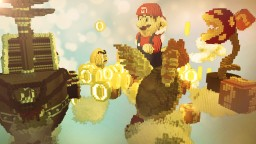 Mario Competitive Parkour Minecraft