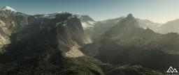 Mount Teress | Worldmachine | By _Killerack_ Minecraft Map & Project