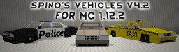 MC 1.12.2 | Spino's Vehicles v4.2 - Content pack for Flan's Mod Minecraft