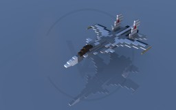 Sukhoi Su-33 Flanker-D Minecraft Map & Project