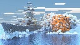 Flandre Class Missile Battleship Minecraft Map & Project