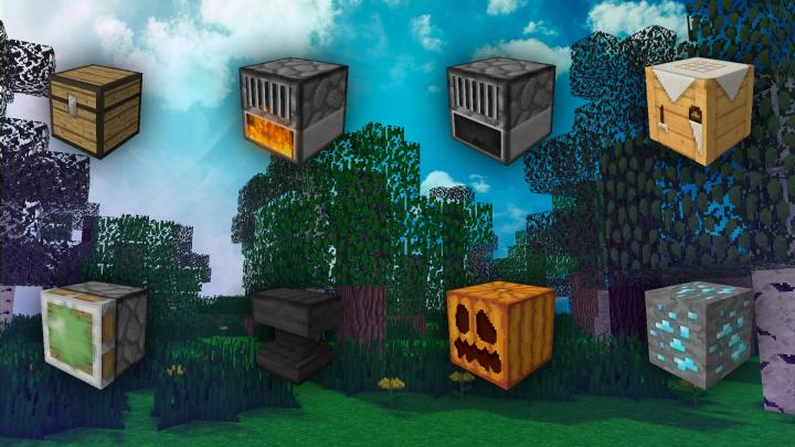 Some Blocks of New Dawn Texturepack