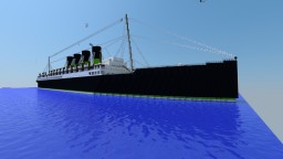 RMS Alexandra (Outside Only) Minecraft Map & Project