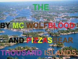 The Thousand Islands- By MC Wolfblood and PizzasBear. Minecraft