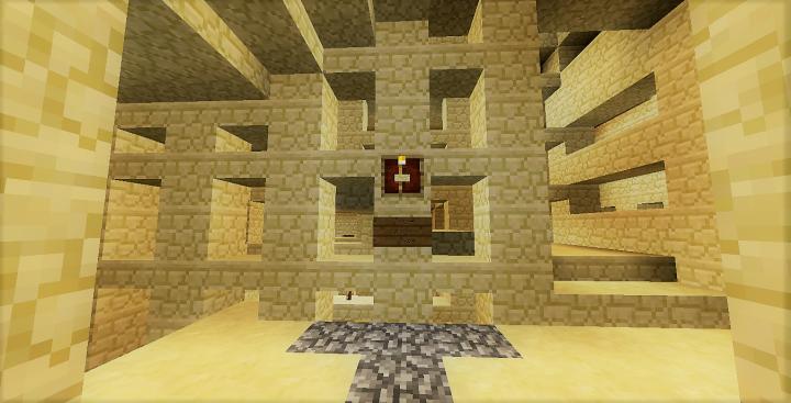 Inside a .... maze
