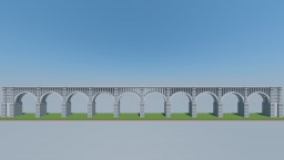 Tunkhannock Creek Viaduct (Nicholson Bridge) PA Minecraft Map & Project