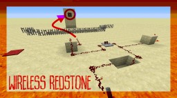 Wireless redstone for Minecraft 1.12 Minecraft Map & Project