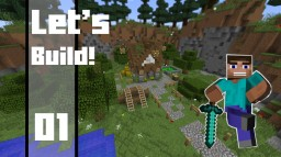 Minecraft - How To Build a Simple Medieval House Minecraft Map & Project