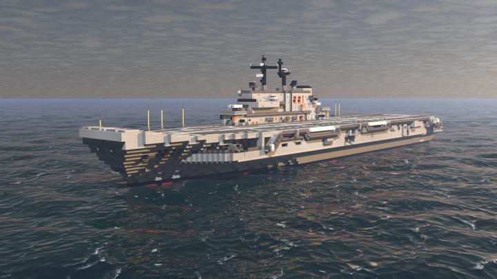 Popular Project : Italian aircraft carrier Giuseppe Garibaldi