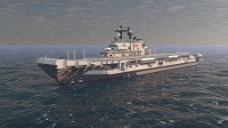 Italian aircraft carrier Giuseppe Garibaldi Minecraft Map & Project