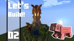 Minecraft - How To Build a Small Medieval Tower Minecraft Map & Project