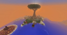 survival treehouse Minecraft Map & Project