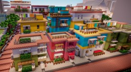 Salvador Street Minecraft Map & Project