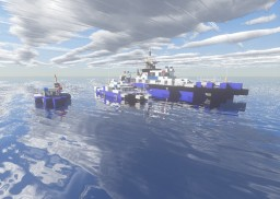 3 Police Boats Minecraft Map & Project