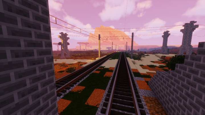 kolejowa trasa