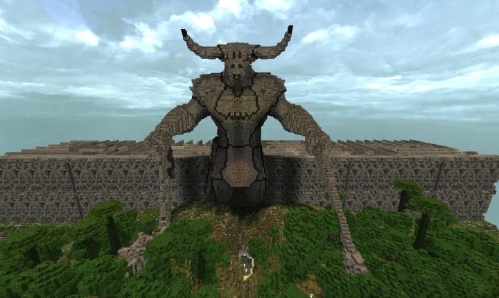 Minotaur Entrance