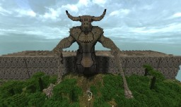 Minotaur Island and Labyrinth Minecraft Map & Project