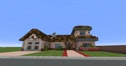 Rick and Morty's House (WIP INSIDE) Minecraft Map & Project