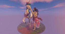 Unicorn and Princess Minecraft