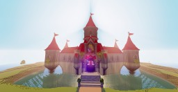 Peach S Castle From Super Mario Odyssey Minecraft Map