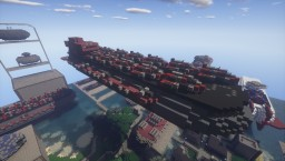 U.S.S Enterprise: Victory class aircraft carrier Minecraft Map & Project