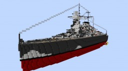DKM Admiral Graf Spee (baltic camo) Minecraft Map & Project