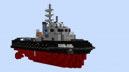Tugboat Atlant (w download Minecraft Map & Project
