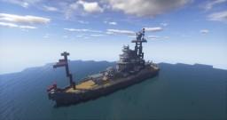 Battleship (WIP) Minecraft Map & Project