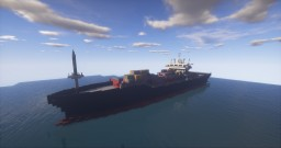 Cargo ship Minecraft Map & Project