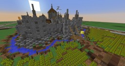 realistic medival castle Minecraft