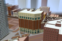 Unnamed Historic Hotel Or Renovated Apartments: The Bakerstown Project Minecraft Map & Project
