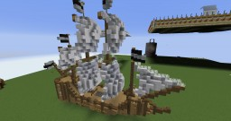 medival ship Minecraft Map & Project