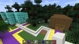Purple Path To Paradise Map Minecraft Map & Project