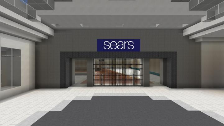 Sears, Mall Enterance