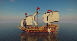 Warship INFINITY Minecraft Map & Project