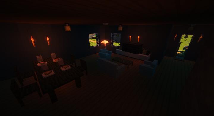 Dinning Room & Living Room